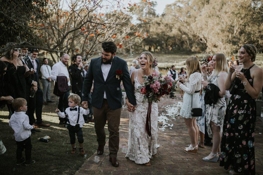 Chapel Farm Wedding Potos   Perth Wedding Photographer   Ebony Blush Photography   Brett + Blythe   59