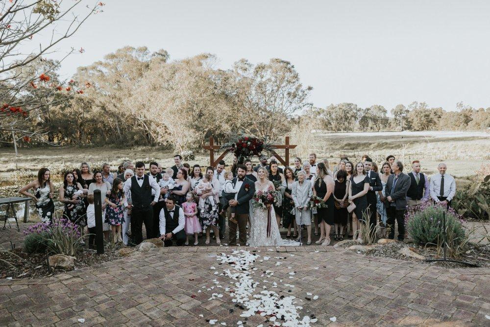 Chapel Farm Wedding Potos   Perth Wedding Photographer   Ebony Blush Photography   Brett + Blythe   67