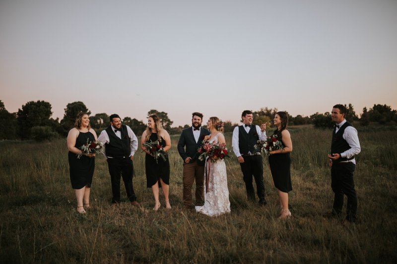 Chapel Farm Wedding Potos | Perth Wedding Photographer | Ebony Blush Photography | Brett + Blythe | 93