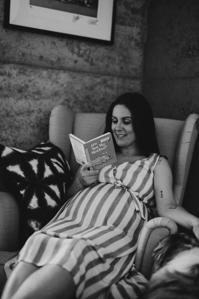 Lifestyle Maternity Photography | Ebony Blush Photography