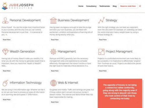 Jude Joseph Business Consulting Financial Growth Ebonydirectory-com Black Business Directory