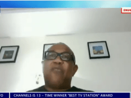 peter obi on channels TV