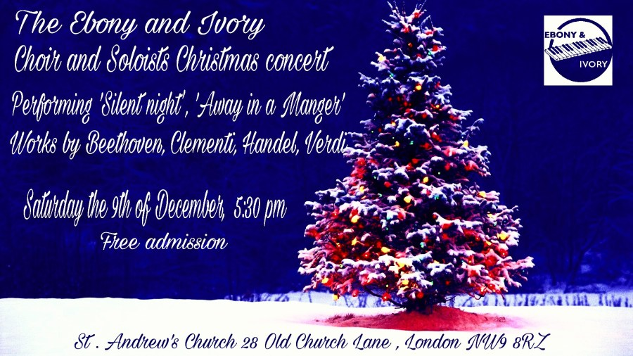 Ebony and Ivory Christmas Choir Concert