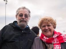 Doug and Ingrid's son volunteered for the Megahertz