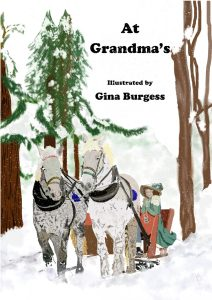 Book Cover: At Grandma's