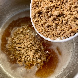 Browned butter and Grape-Nuts!