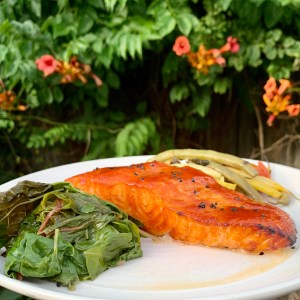 Smoky Spicy Salmon Sunday Glaze