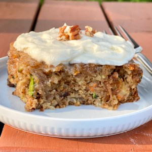 Copycat J. Alexanders Carrot Cake Recipe (Reduced Sugar)