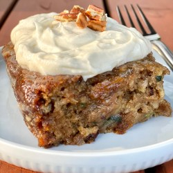 Copycat J Alexander's Carrot Cake with Zucchini