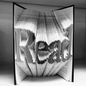 Read - book art