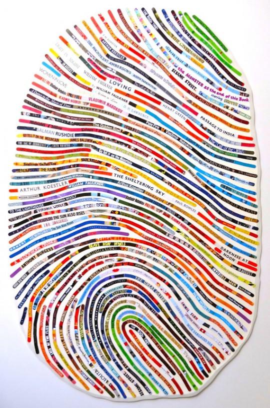 Custom Thumbprint Portrait by Cheryl Sorg - picture 1