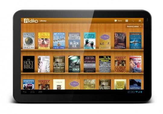 Aldiko Samsung Galaxy Tab