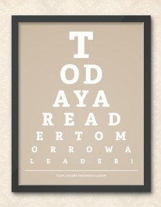 od ay  read er tom today reader eye chart also awesome posters that encourage to rh ebookfriendly