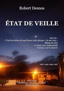 Desnos Robert - État de veille - Bibliothèque numérique romande - Jean-Louis G. Ciel nocturne et lumières à Cers depuis la coopérative