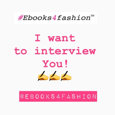 interview, I'd love to Interview YOU!, Fashion Marketing to grow Fashion Business | Ebooks4fashion.com