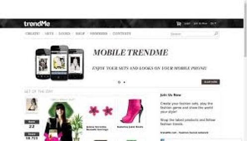 Trendme alternative to Polyvore