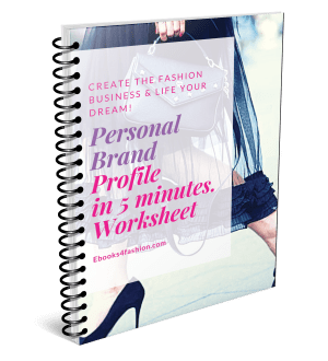Personal Brand Profile for Fashion Business in 5 Minutes.