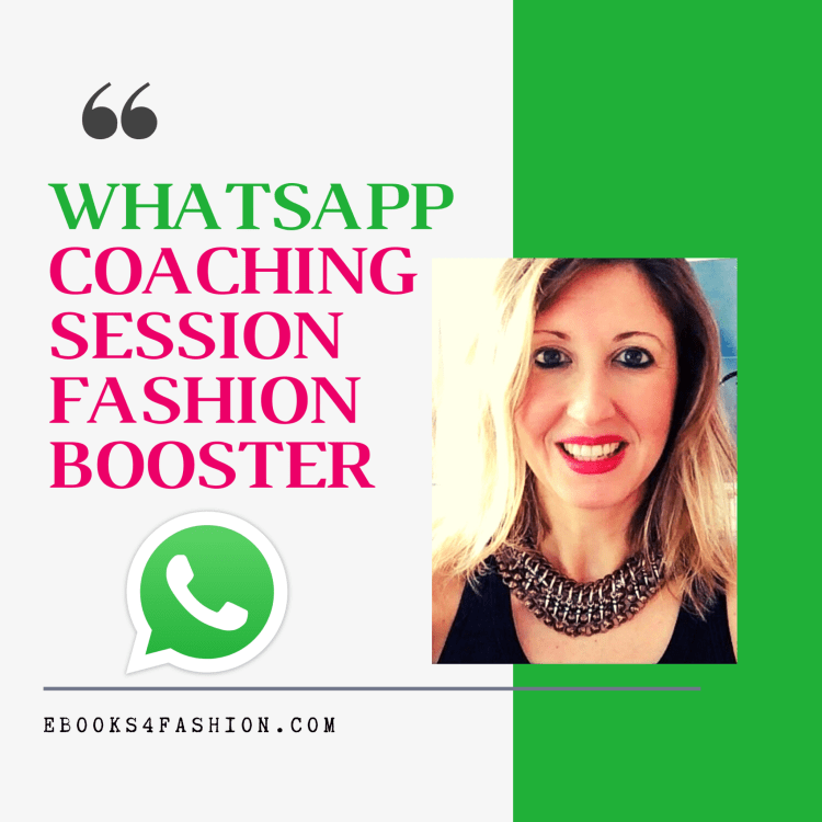 WhatsApp Coaching Session Fashion booster