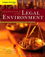 Cengage Advantage Books: Essentials of the Legal Environment, 3th Edition