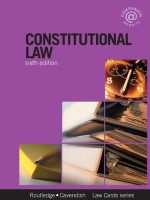 [FREE] Constitutional Lawcards, Sixth Edition