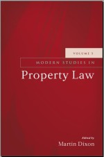 Modern Studies in Property Law: Volume 5