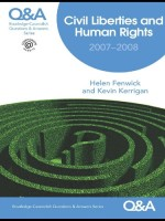 [FREE] Q&A Civil Liberties & Human Rights 2007/2008 (Questions and Answers)
