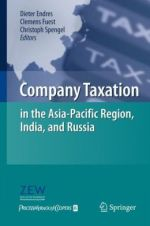 Company Taxation in the Asia-Pacific Region, India, and Russia