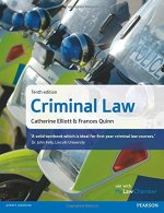 Criminal Law 10th edition by Catherine Elliott and Frances Quinn