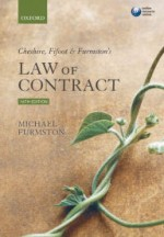 Cheshire, Fifoot and Furmston's Law of Contract / Edition 16