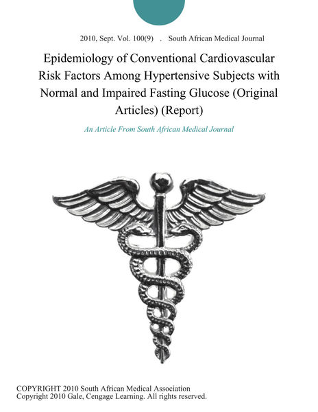 Download PDF Epidemiology of Conventional Cardiovascular
