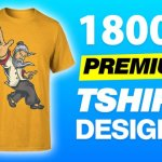 We will give you 18,000 T-shirt designs for merch by amazon