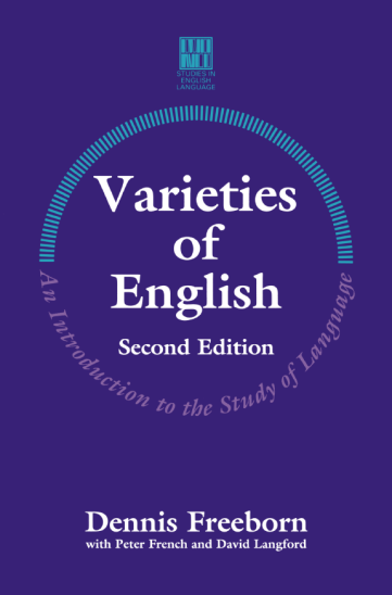 Varieties of English: An Introduction to the Study of Language, 2nd Edition