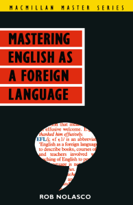 MASTERING ENGLISH AS A FOREIGN LANGUAGE