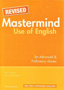 Revised Mastermind Use of English for Advanced and Proficiencz classes
