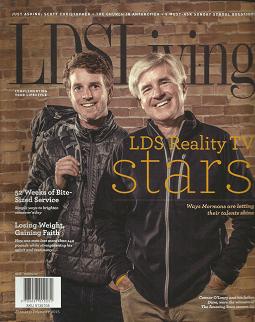lds living magazine - 255×322