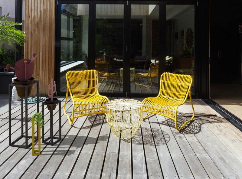 Podiums Habitat pour valoriser les plantes sur sa terrasse