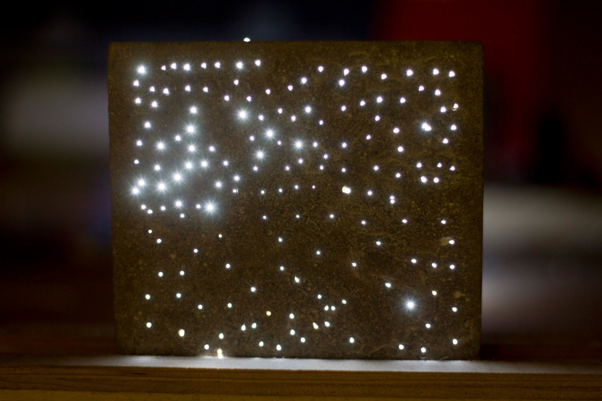 Light Transmitting Concrete  EBDesigns