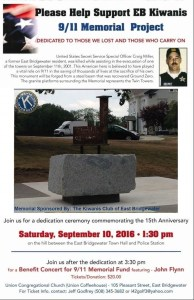 Special Events on EB's Town Common Tomorrow, Saturday, September 10th