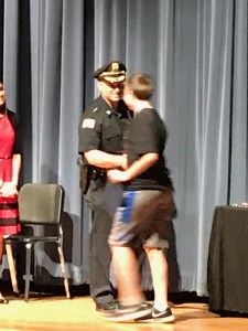 East Bridgewater Police and Schools Celebrate 6th Grade DARE Graduation at Middle School