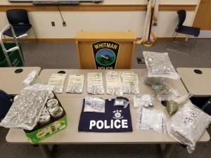 WEB Task Force Makes Drug Arrests in Whitman