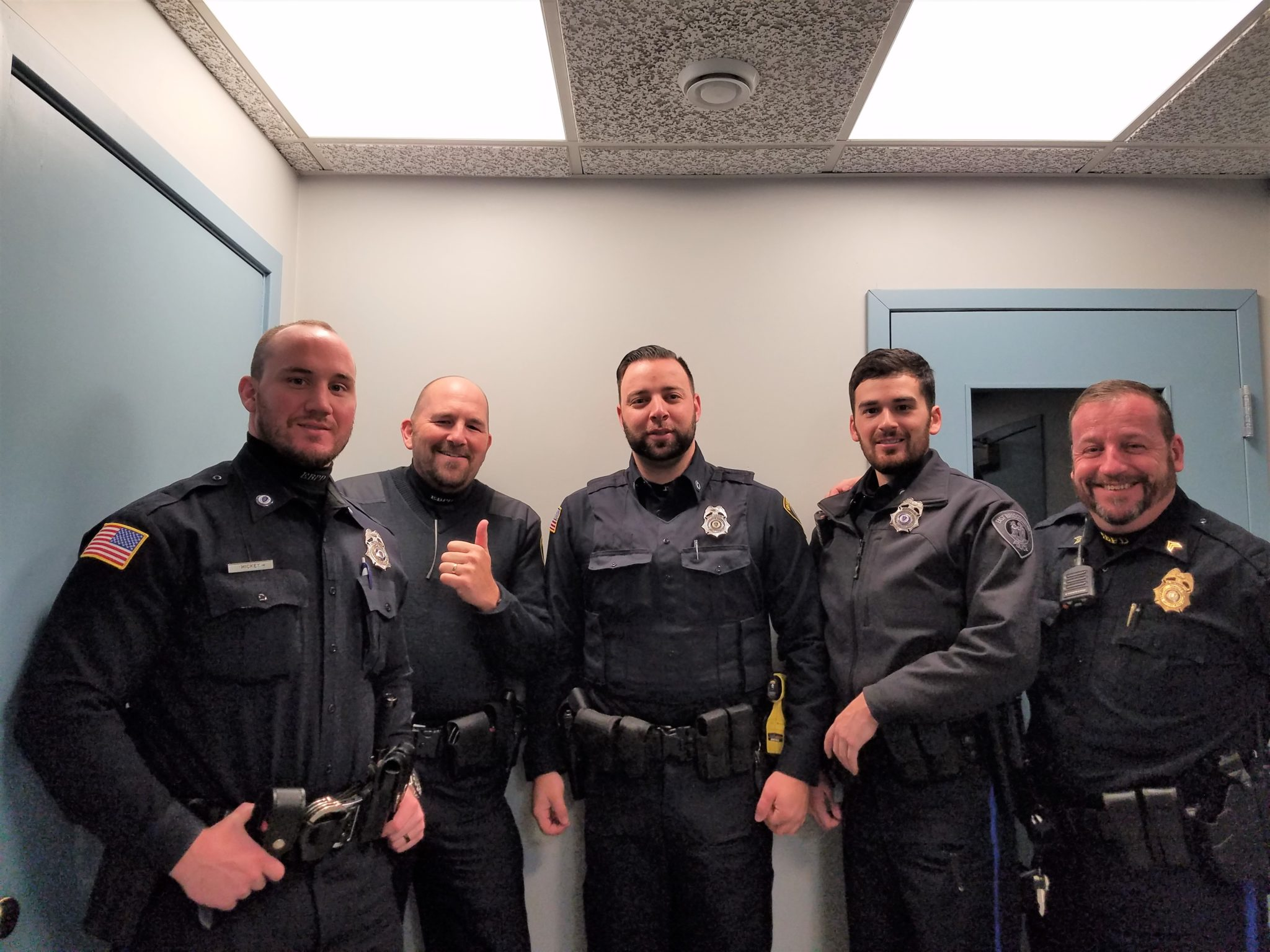 East Bridgewater Police Department's No Shave November