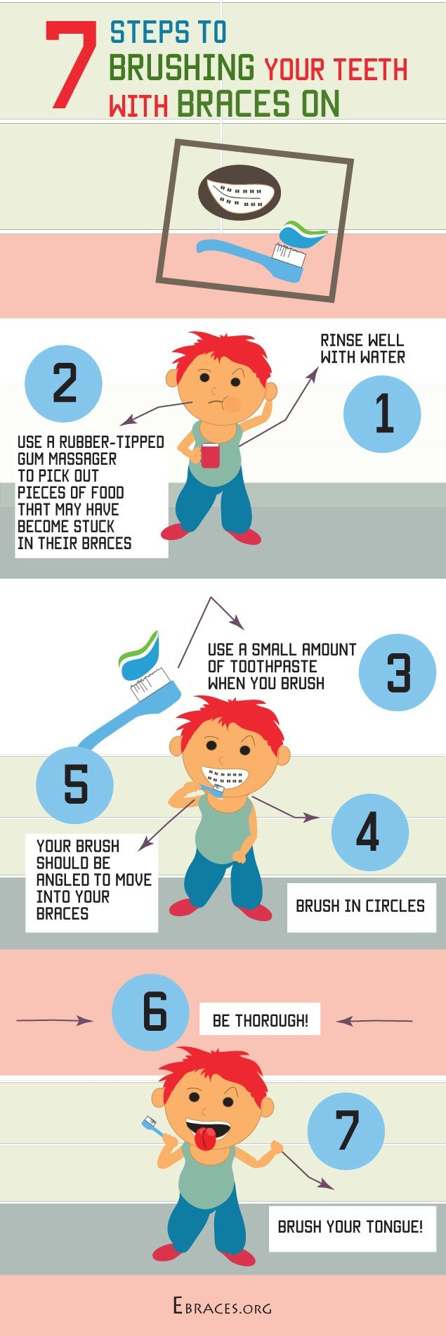 how to keep your teeth clean with braces