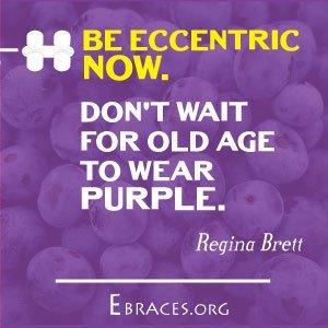 purple color quote