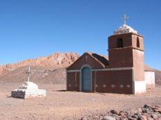 Igreja no Atacama