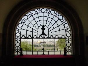Igreja Dominus Flevit, onde Jesus chorou sobre Jerusalém