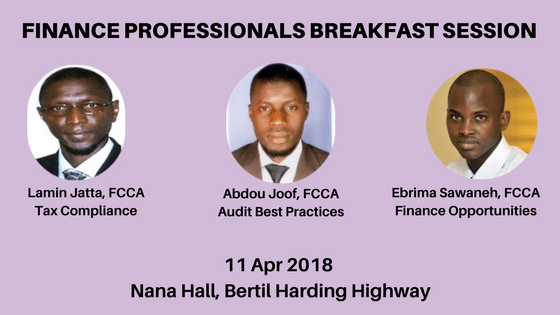 Gambia accounting professionals