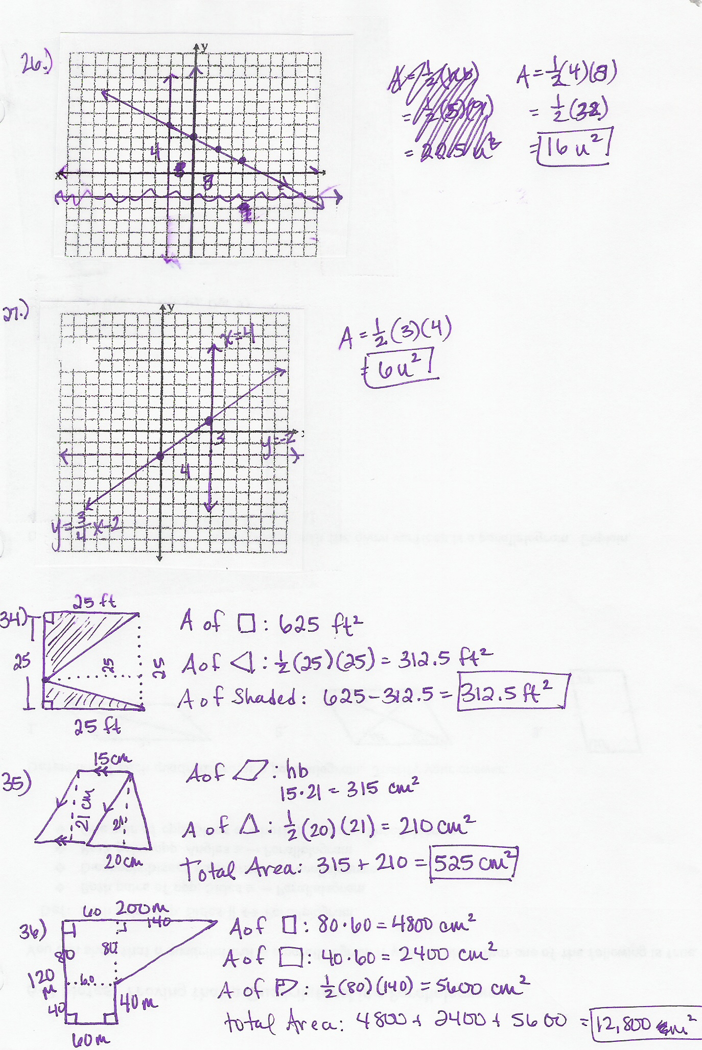 Honors 9th Grade Geometry Worksheet