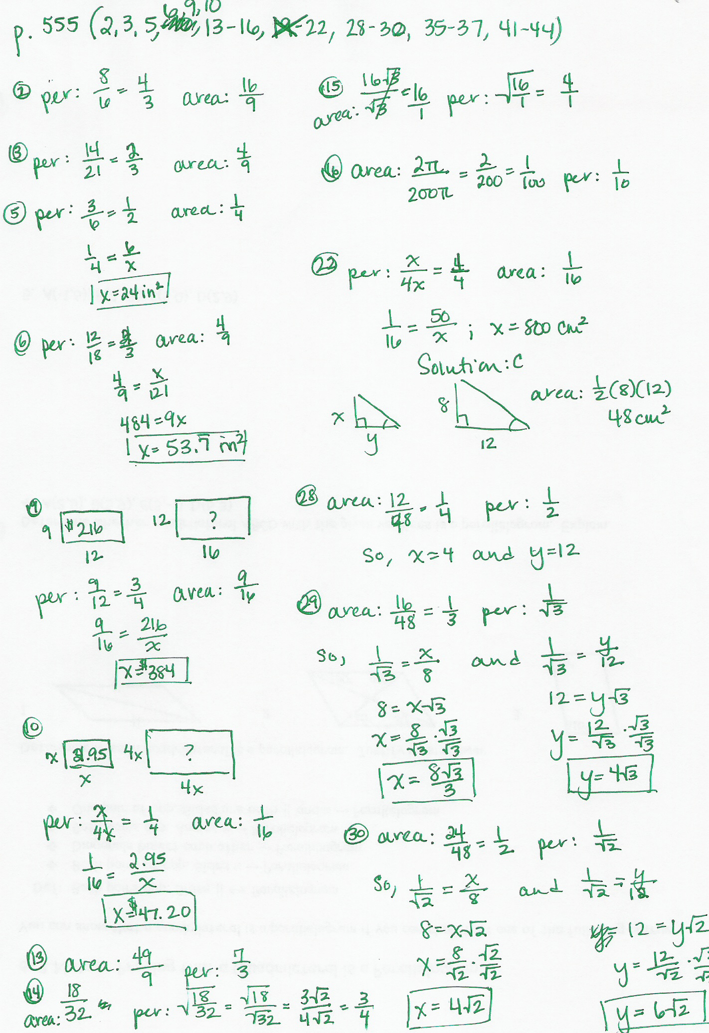 80 Answers To Algebra 1 Chapter 9 Test 9 Answers To Test