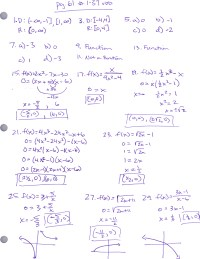 Advanced Pre-Calculus | Advanced Pre-Calculus