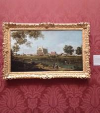 Eton college - Canaletto